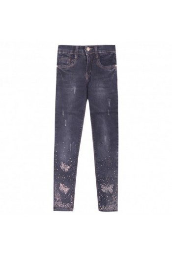 Jeans marshall strass