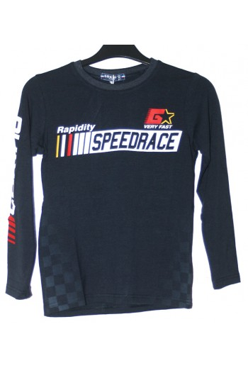 T-shirt Speedrace bleu