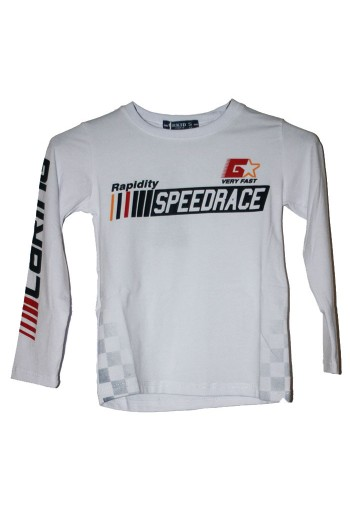 copy of T-shirt Speedrace bleu